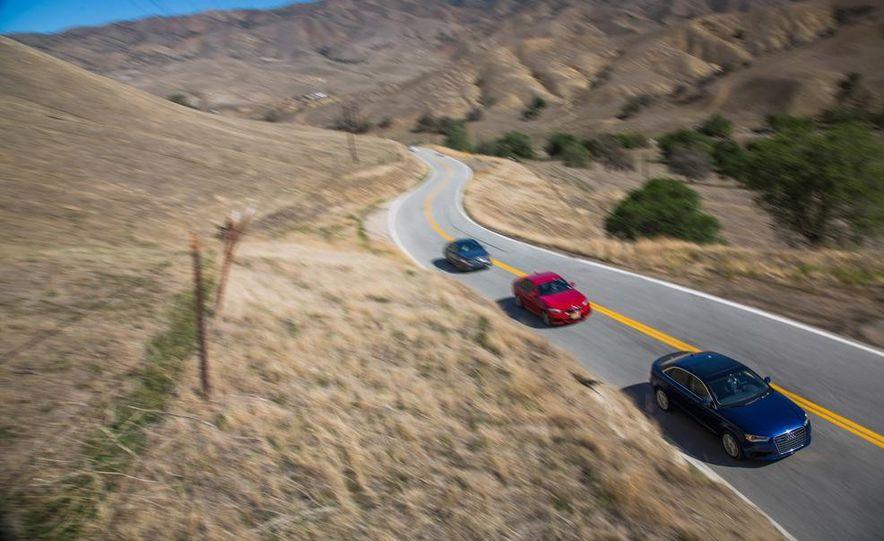 2014 BMW 228i M Sport, 2014 Mercedes-Benz CLA250 4MATIC, and 2015 Audi A3 2.0T Quattro - Slide 2