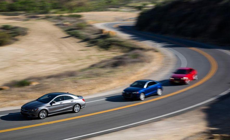 2014 BMW 228i M Sport, 2014 Mercedes-Benz CLA250 4MATIC, and 2015 Audi A3 2.0T Quattro - Slide 5