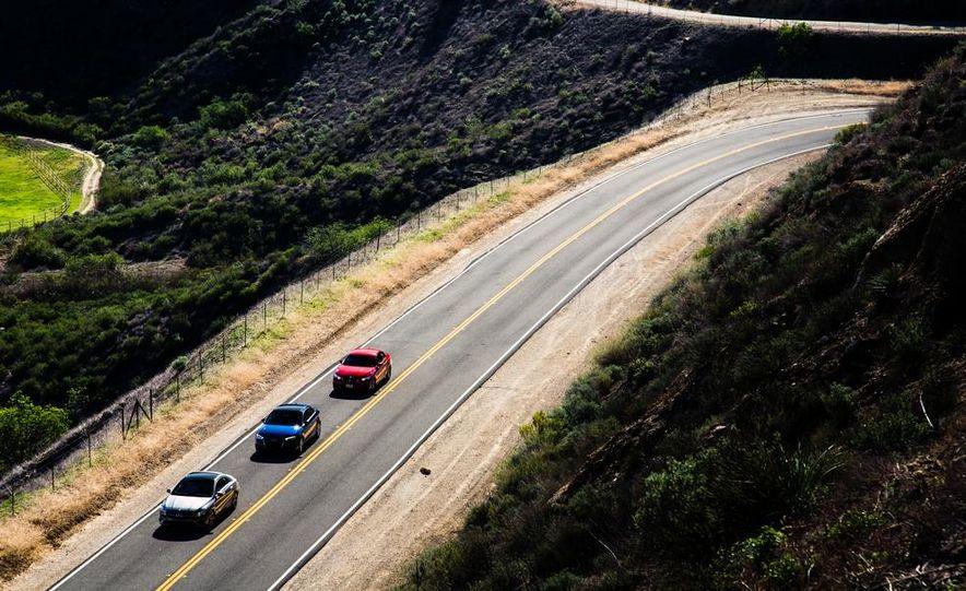 2014 BMW 228i M Sport, 2014 Mercedes-Benz CLA250 4MATIC, and 2015 Audi A3 2.0T Quattro - Slide 7