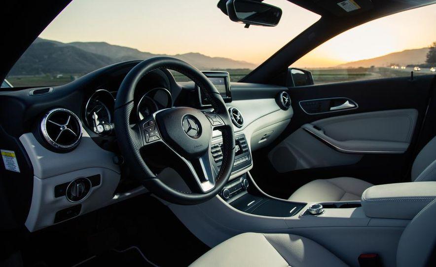 2014 BMW 228i M Sport, 2014 Mercedes-Benz CLA250 4MATIC, and 2015 Audi A3 2.0T Quattro - Slide 22