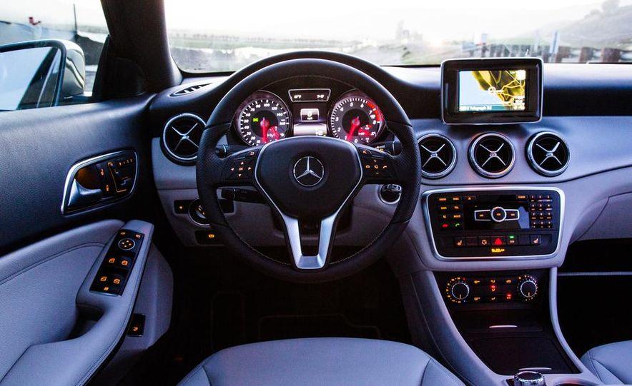 2014 BMW 228i M Sport, 2014 Mercedes-Benz CLA250 4MATIC, and 2015 Audi A3 2.0T Quattro - Slide 23