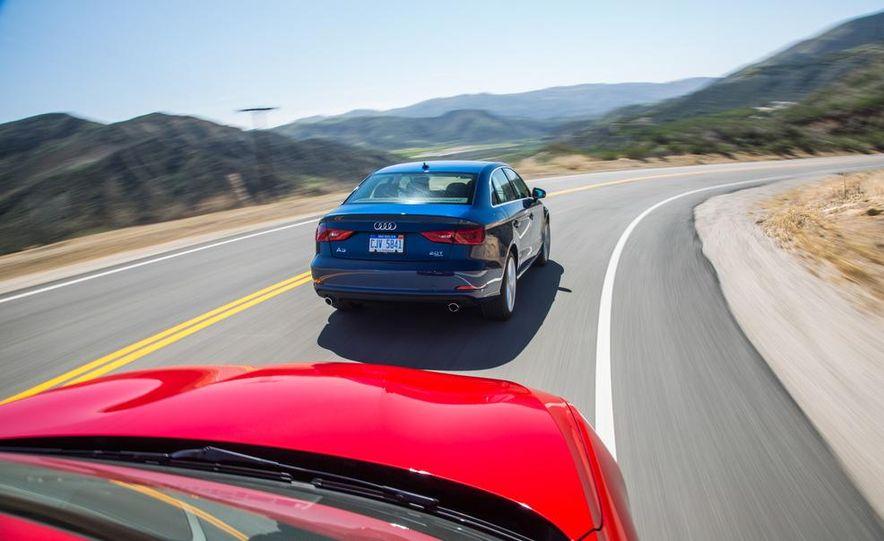 2014 BMW 228i M Sport, 2014 Mercedes-Benz CLA250 4MATIC, and 2015 Audi A3 2.0T Quattro - Slide 44