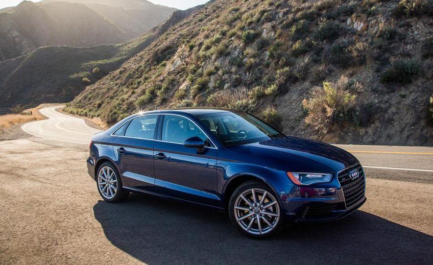 2014 BMW 228i M Sport, 2014 Mercedes-Benz CLA250 4MATIC, and 2015 Audi A3 2.0T Quattro - Slide 47