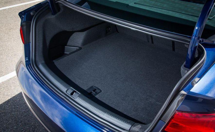 2014 BMW 228i M Sport, 2014 Mercedes-Benz CLA250 4MATIC, and 2015 Audi A3 2.0T Quattro - Slide 53