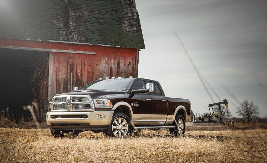2014 Ram 2500 HD Laramie Longhorn diesel - Slide 14