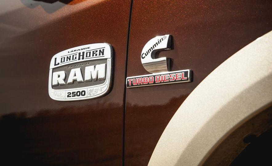 2014 Ram 2500 HD Laramie Longhorn diesel - Slide 23