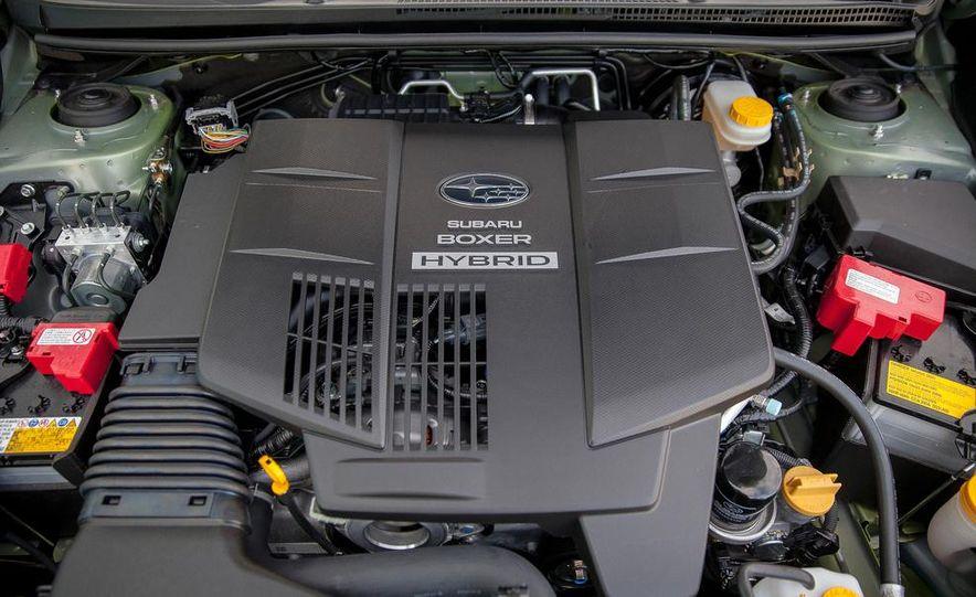 2014 Subaru XV Crosstrek hybrid - Slide 54
