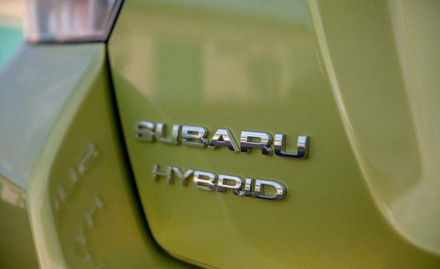2014 Subaru XV Crosstrek hybrid - Slide 25