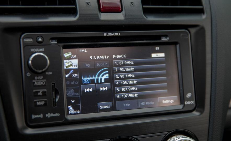 2014 Subaru XV Crosstrek hybrid - Slide 35