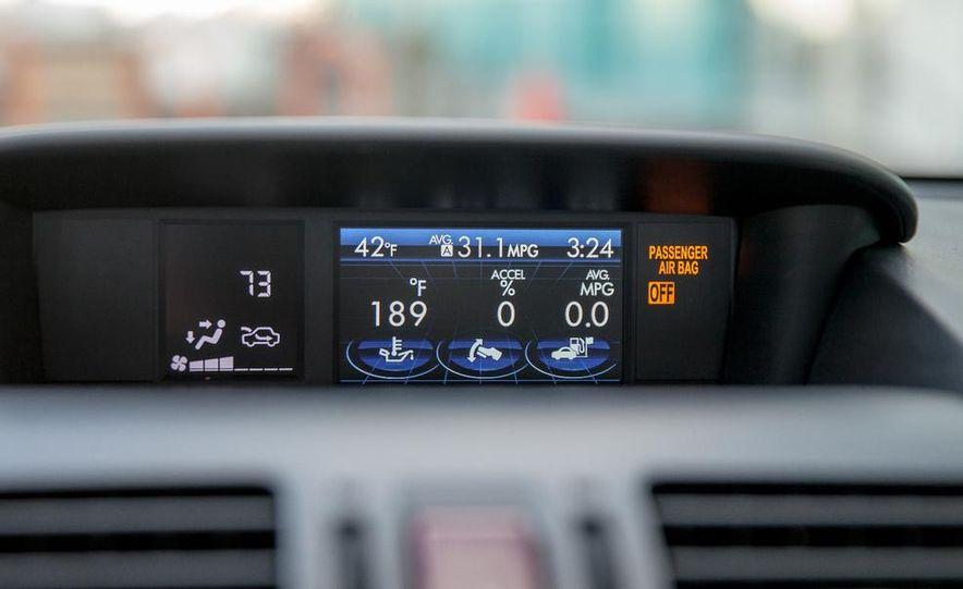2014 Subaru XV Crosstrek hybrid - Slide 40