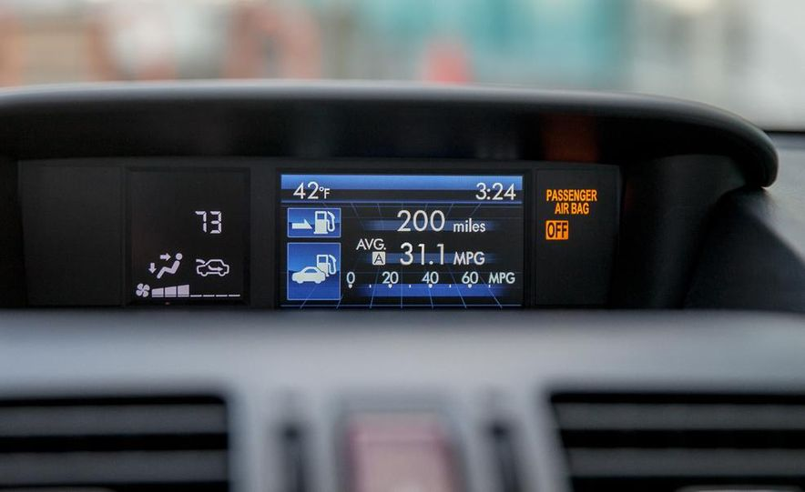 2014 Subaru XV Crosstrek hybrid - Slide 42