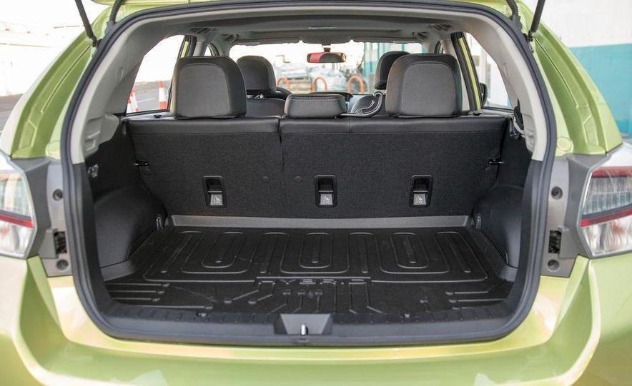 2014 Subaru XV Crosstrek hybrid - Slide 34