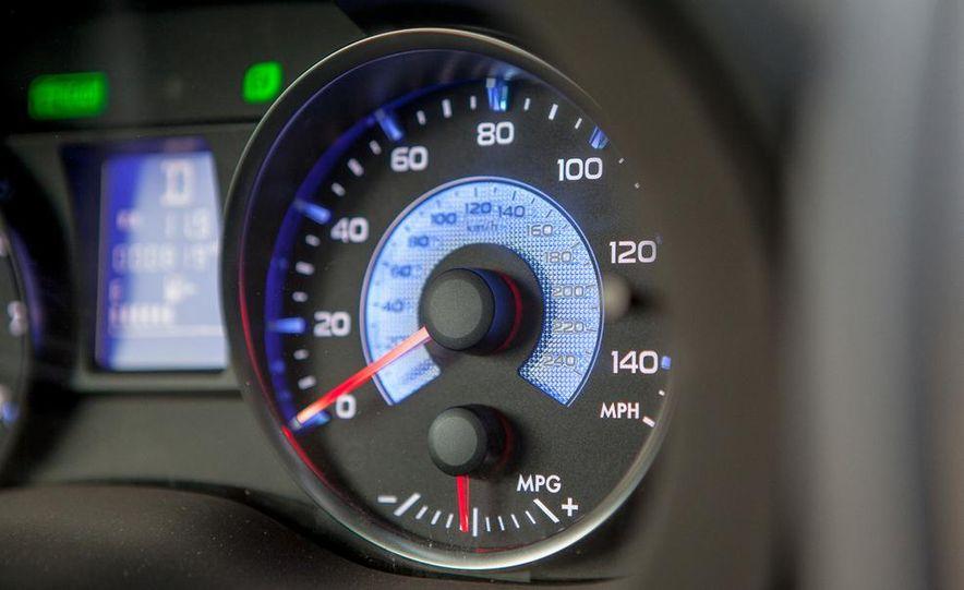 2014 Subaru XV Crosstrek hybrid - Slide 37