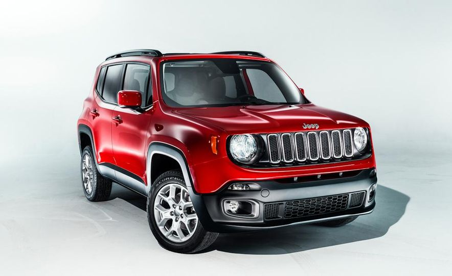 2015 Jeep Renegade Latitude - Slide 1