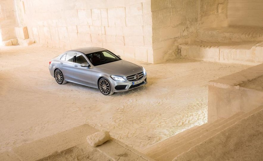 2016 Mercedes-Benz C-class plug-in hybrid (spy photo) - Slide 21