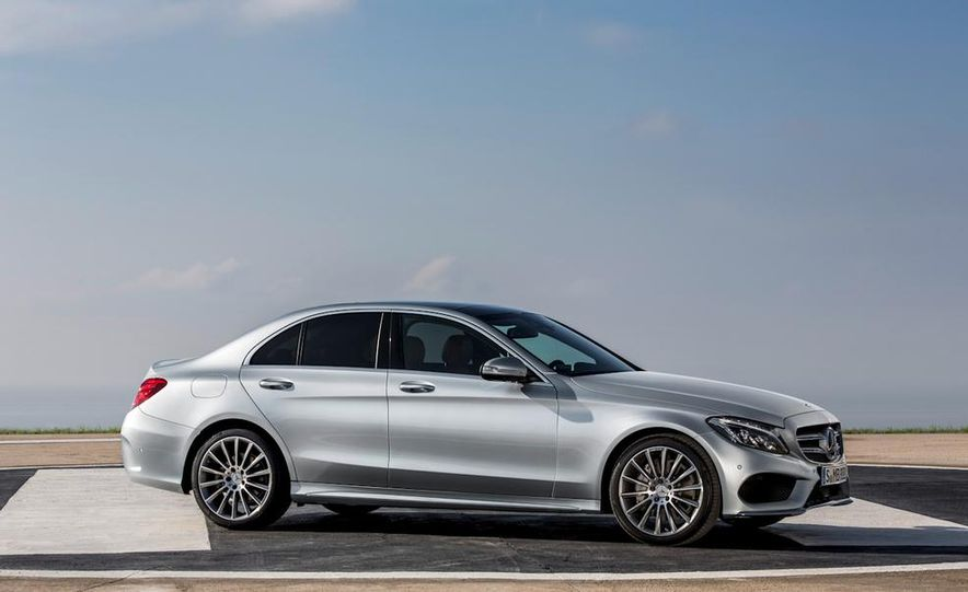 2016 Mercedes-Benz C-class plug-in hybrid (spy photo) - Slide 27
