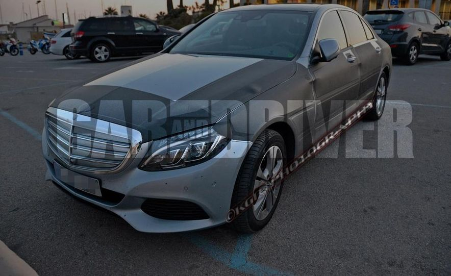 2016 Mercedes-Benz C-class plug-in hybrid (spy photo) - Slide 1