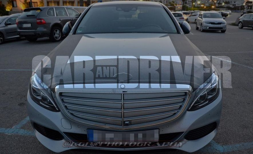 2016 Mercedes-Benz C-class plug-in hybrid (spy photo) - Slide 2