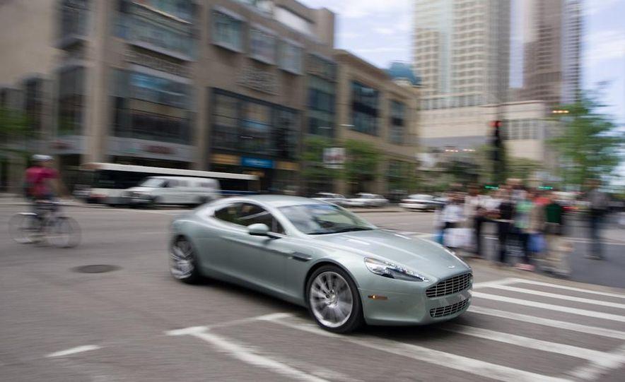 2016 Aston Martin Lagonda sedan (spy photo) - Slide 23