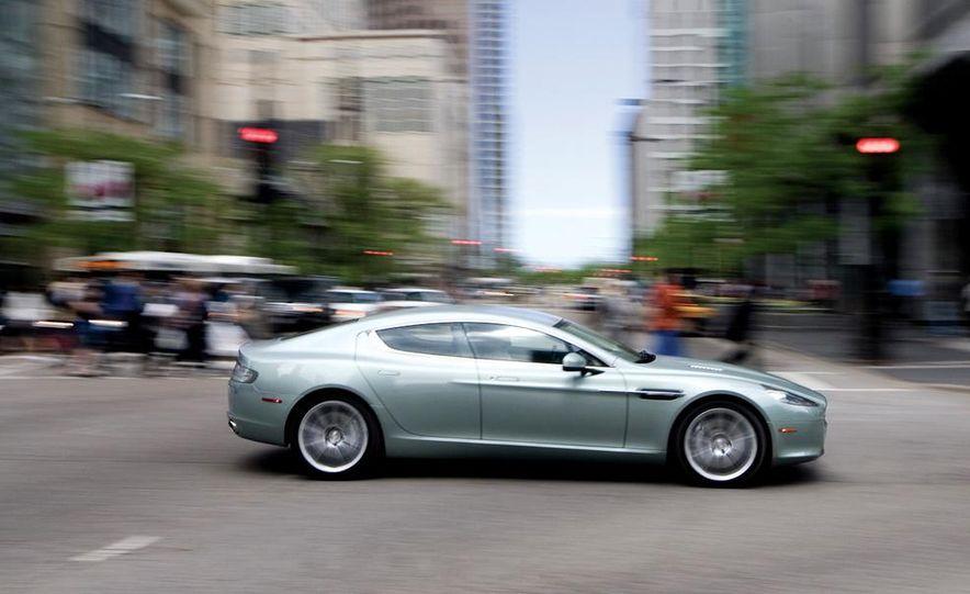 2016 Aston Martin Lagonda sedan (spy photo) - Slide 27