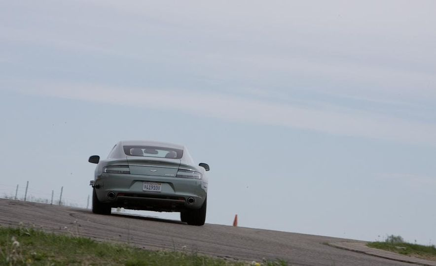 2016 Aston Martin Lagonda sedan (spy photo) - Slide 29