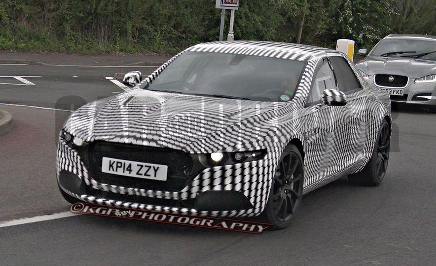 2016 Aston Martin Lagonda sedan (spy photo) - Slide 3