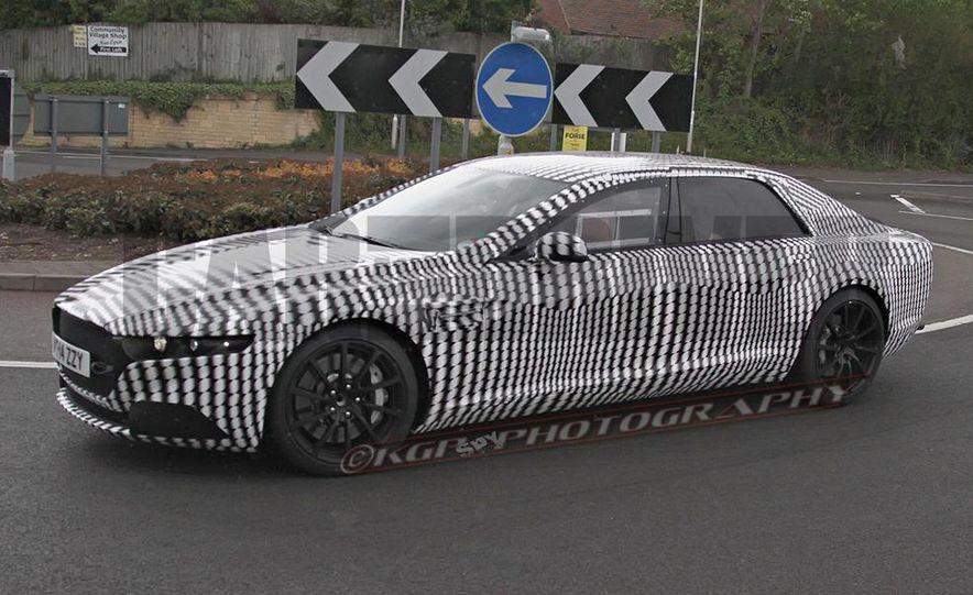 2016 Aston Martin Lagonda sedan (spy photo) - Slide 6