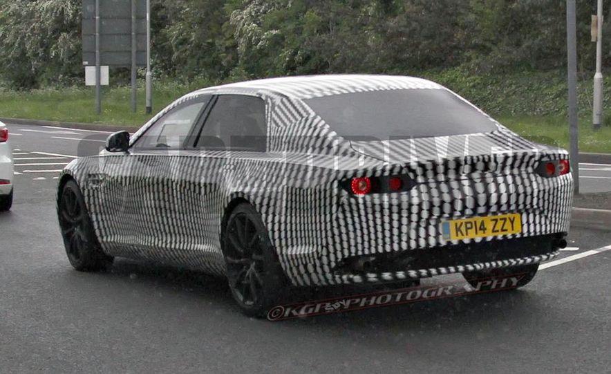 2016 Aston Martin Lagonda sedan (spy photo) - Slide 11