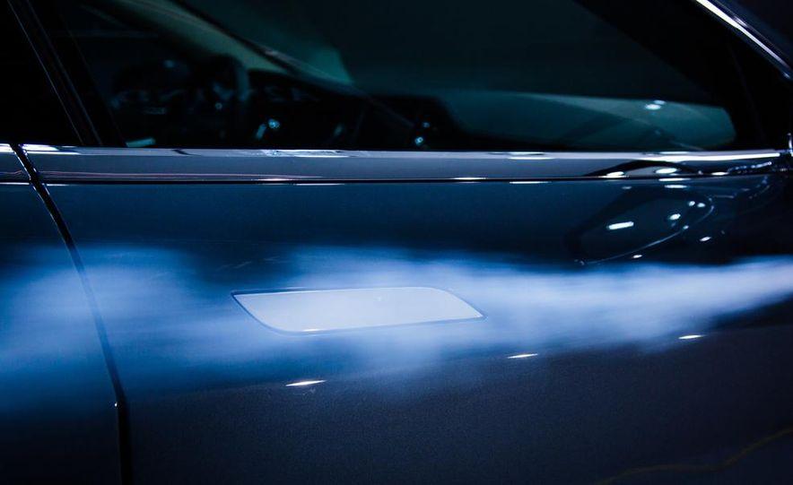 2014 Toyota Prius, 2014 Mercedes-Benz CLA250, 2012 Tesla Model S P85, 2012 Nissan Leaf SL, and 2014 Chevrolet Volt - Slide 10