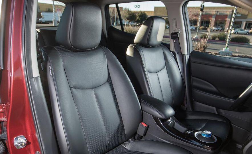2014 Toyota Prius, 2014 Mercedes-Benz CLA250, 2012 Tesla Model S P85, 2012 Nissan Leaf SL, and 2014 Chevrolet Volt - Slide 25