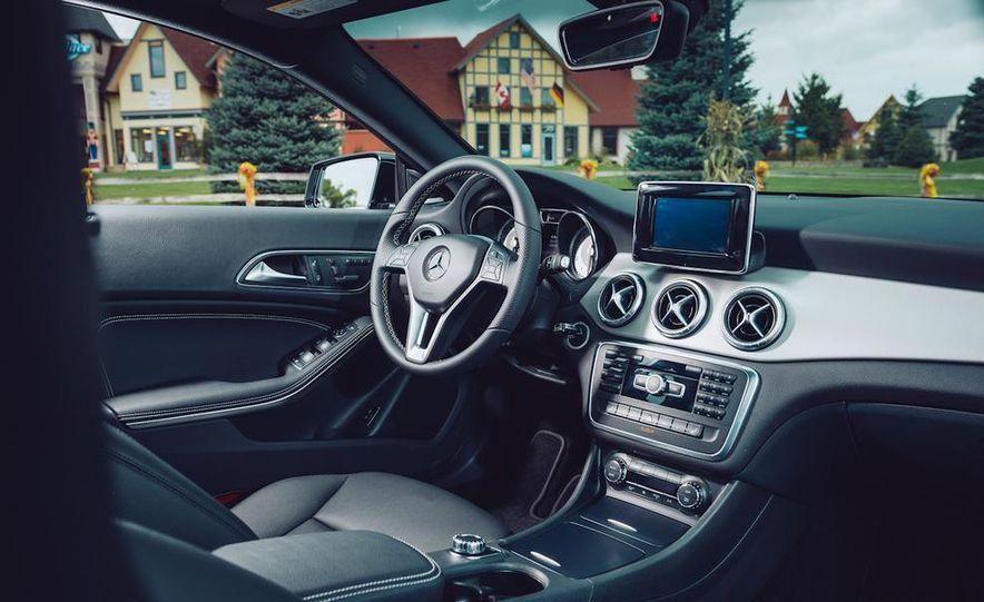 2014 Toyota Prius, 2014 Mercedes-Benz CLA250, 2012 Tesla Model S P85, 2012 Nissan Leaf SL, and 2014 Chevrolet Volt - Slide 39