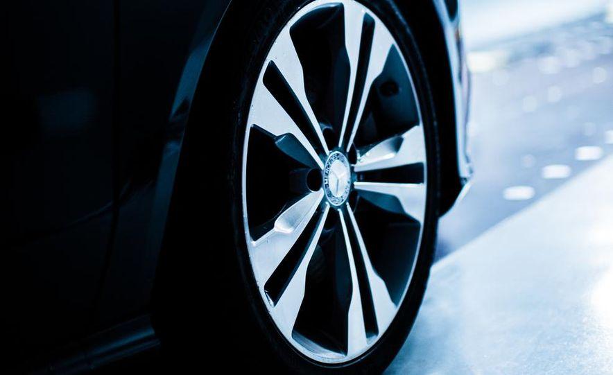 2014 Toyota Prius, 2014 Mercedes-Benz CLA250, 2012 Tesla Model S P85, 2012 Nissan Leaf SL, and 2014 Chevrolet Volt - Slide 13