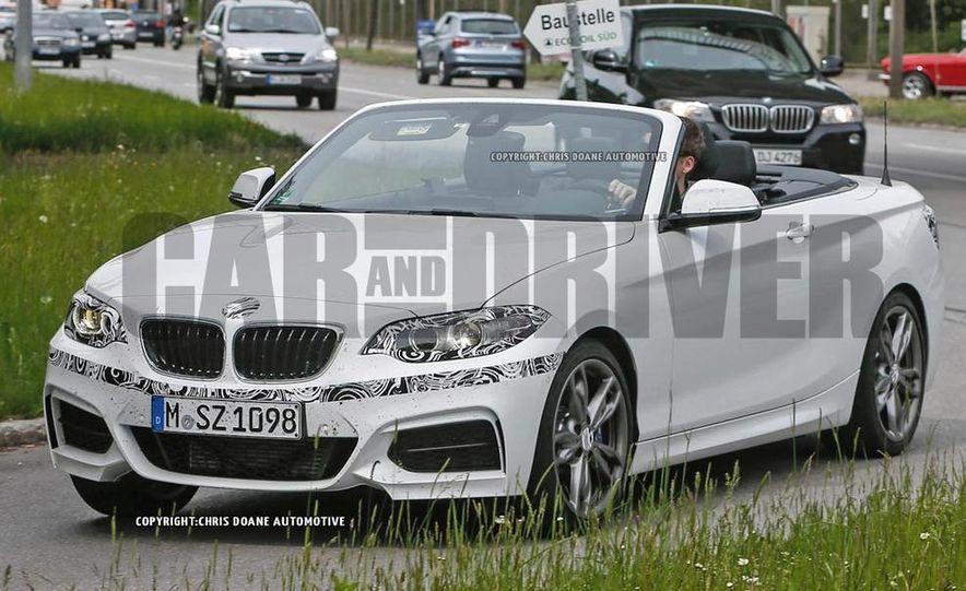 2015 BMW M235i cabriolet (spy photo) - Slide 2