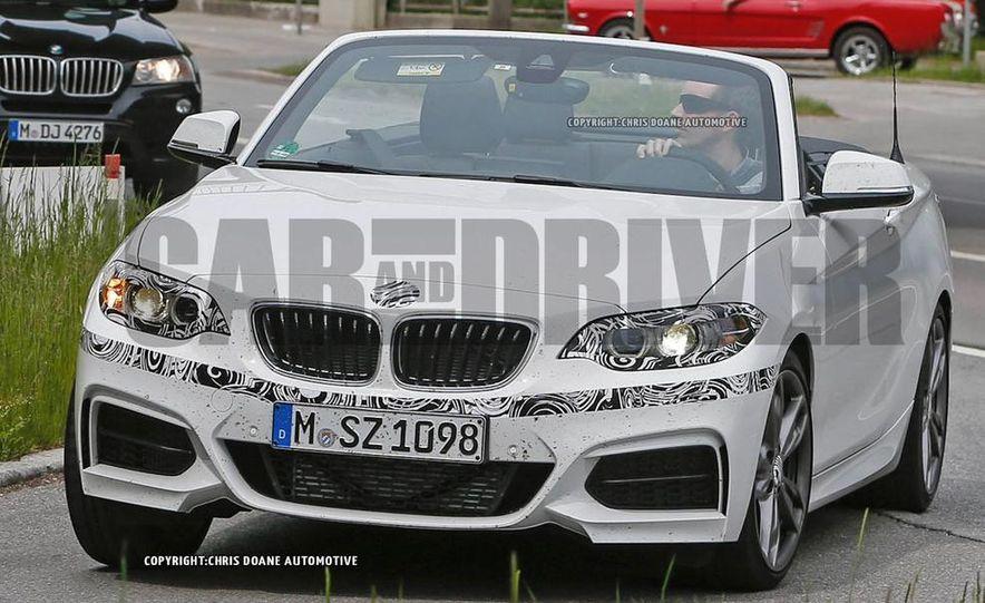 2015 BMW M235i cabriolet (spy photo) - Slide 1