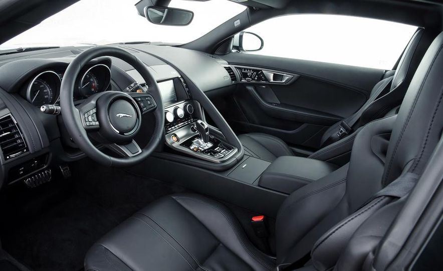 2015 Jaguar F-type V-6 S coupe (Euro-spec) - Slide 60