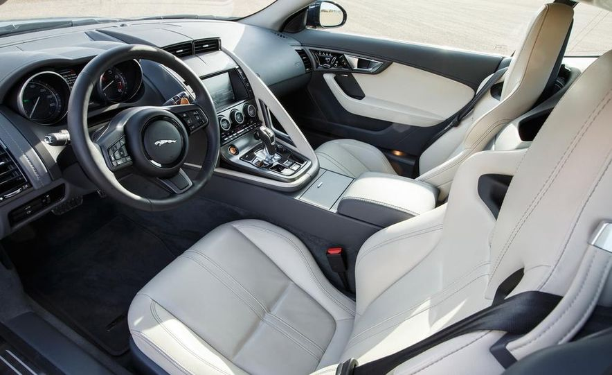 2015 Jaguar F-type V-6 S coupe (Euro-spec) - Slide 91