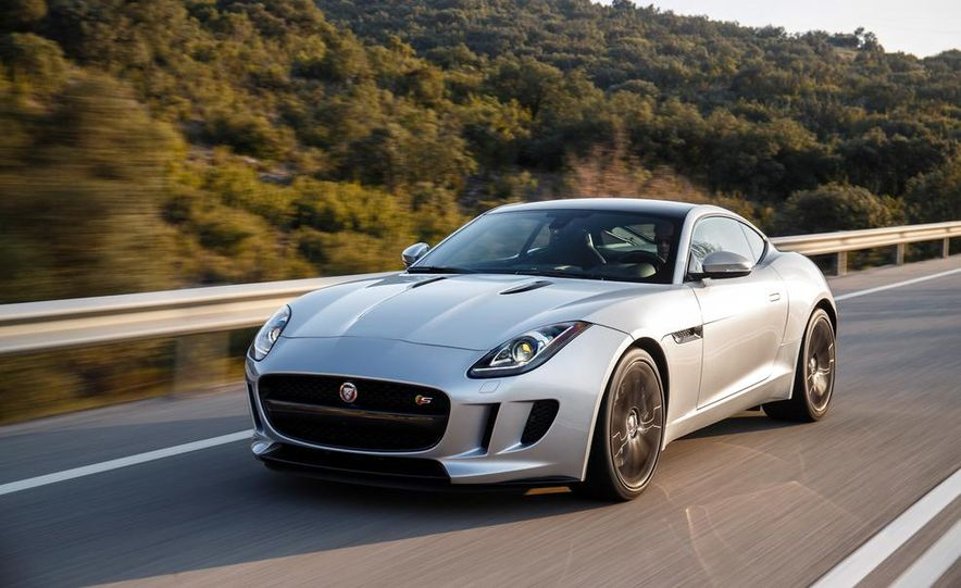 2015 Jaguar F-type V-6 S coupe (Euro-spec) - Slide 32