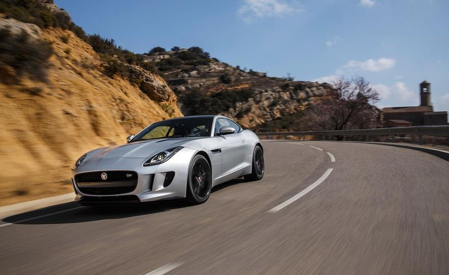 2015 Jaguar F-type V-6 S coupe (Euro-spec) - Slide 33