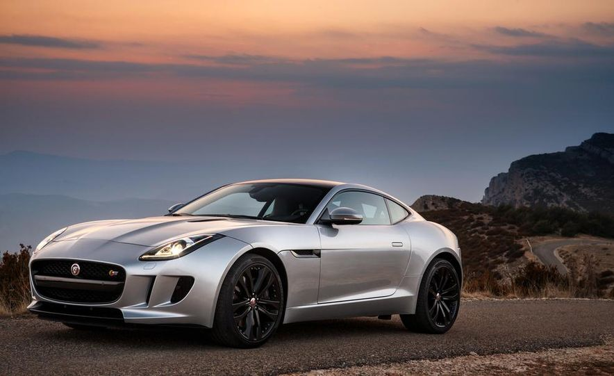 2015 Jaguar F-type V-6 S coupe (Euro-spec) - Slide 41
