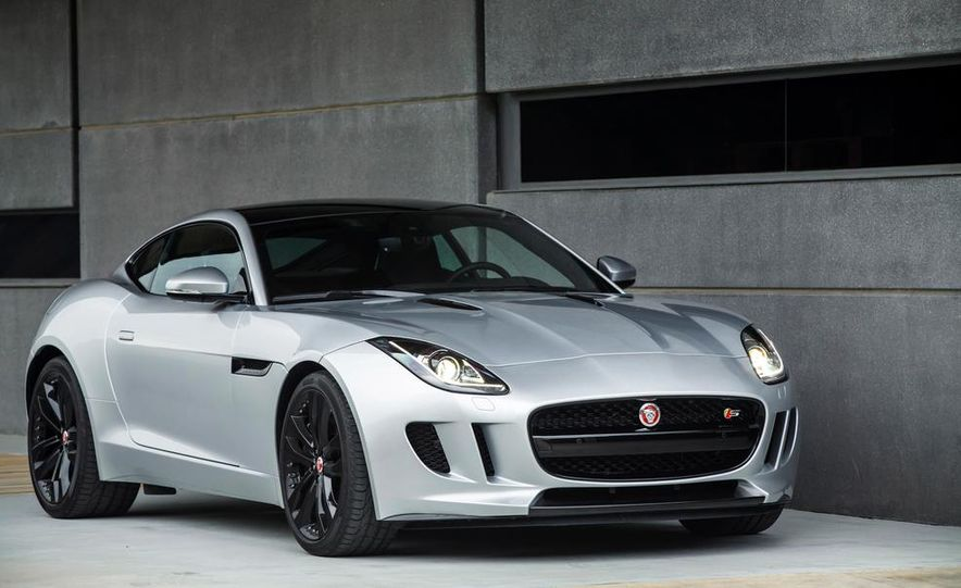 2015 Jaguar F-type V-6 S coupe (Euro-spec) - Slide 43