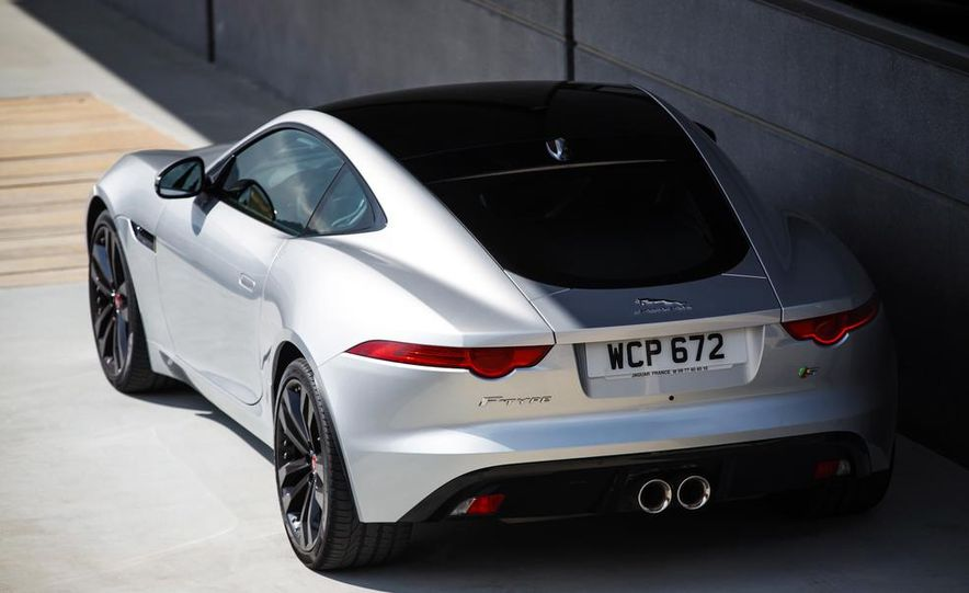 2015 Jaguar F-type V-6 S coupe (Euro-spec) - Slide 45