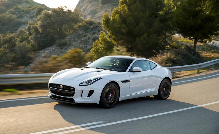 2015 Jaguar F-type V-6 S coupe (Euro-spec) - Slide 2