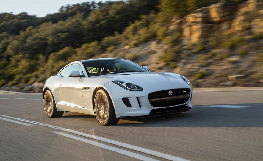 2015 Jaguar F-type V-6 S coupe (Euro-spec) - Slide 4