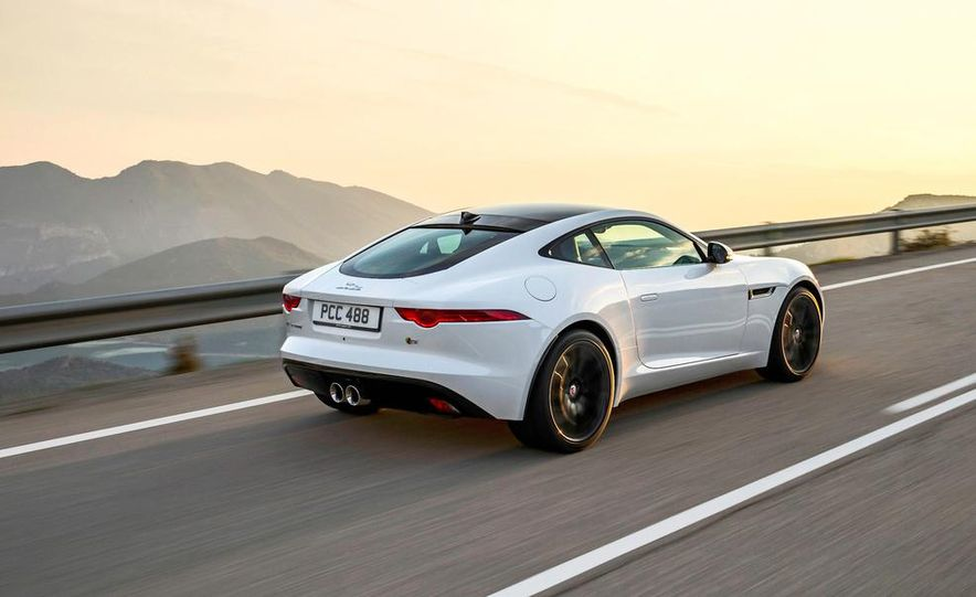 2015 Jaguar F-type V-6 S coupe (Euro-spec) - Slide 5