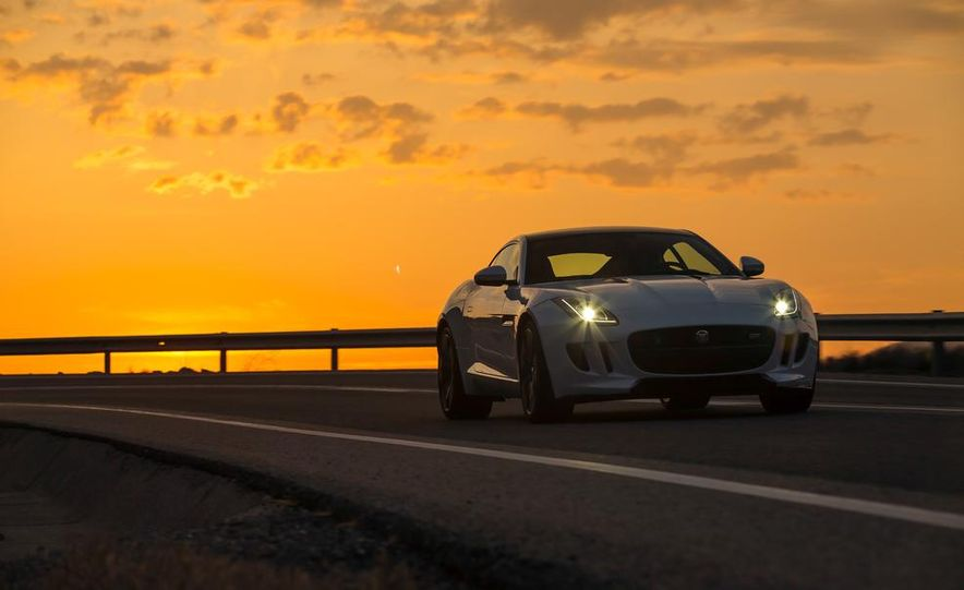 2015 Jaguar F-type V-6 S coupe (Euro-spec) - Slide 6