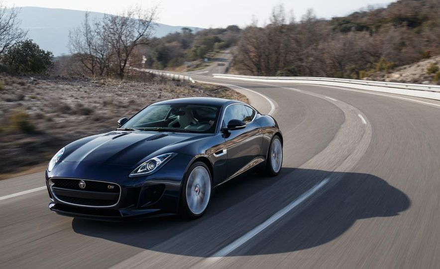2015 Jaguar F-type V-6 S coupe (Euro-spec) - Slide 75