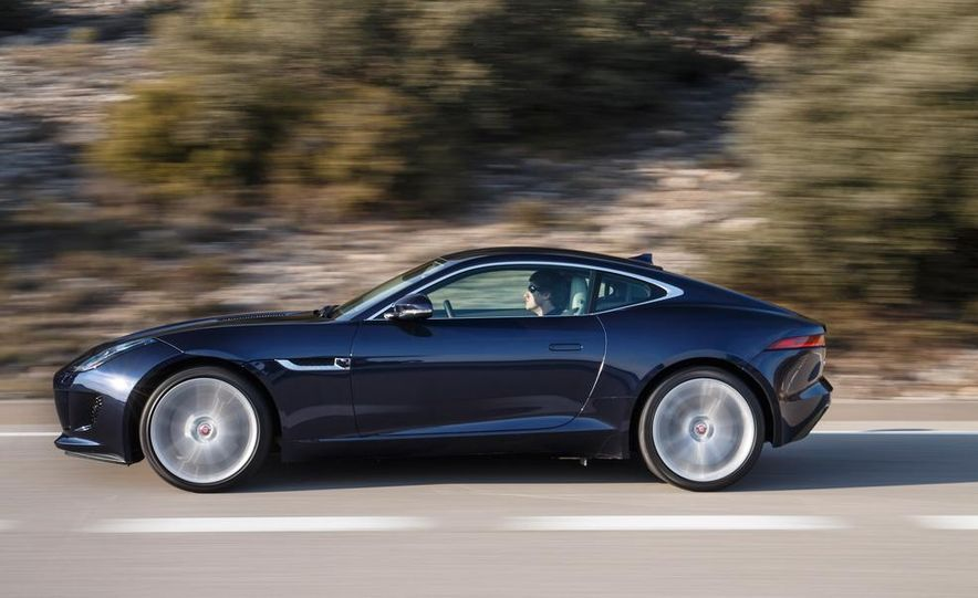 2015 Jaguar F-type V-6 S coupe (Euro-spec) - Slide 76