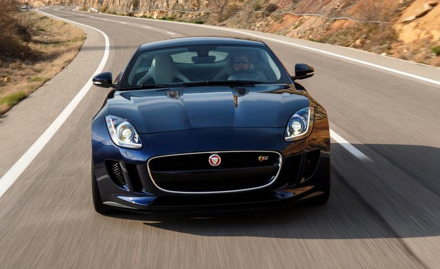 2015 Jaguar F-type V-6 S coupe (Euro-spec) - Slide 80