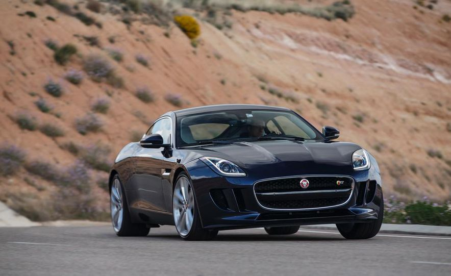 2015 Jaguar F-type V-6 S coupe (Euro-spec) - Slide 81