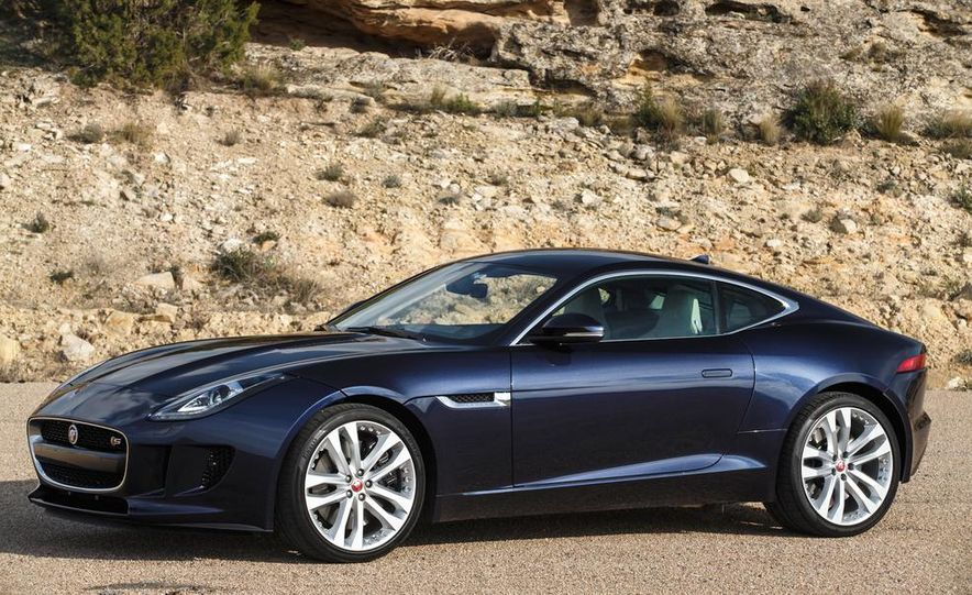 2015 Jaguar F-type V-6 S coupe (Euro-spec) - Slide 82
